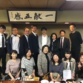 町の方々も交えて行われた第1回目のNext東京箕輪会の懇親会。これからもゆるいつながりをつくっていきます。